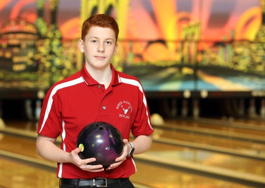 Rockland Scholar-Athlete of the Week, Phoenix Dalto was photographed at Hi-Tor Lanes in West Haverstraw Feb. 21, 2019.