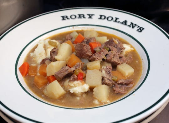 Lamb Stew at Rory Dolan's Restaurant and Bar on McLean Avenue in Yonkers.