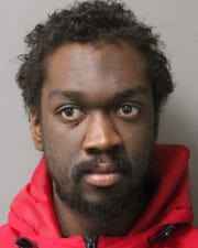State police said they arrested Rayshawn Sheppard Thursday for drug possession.