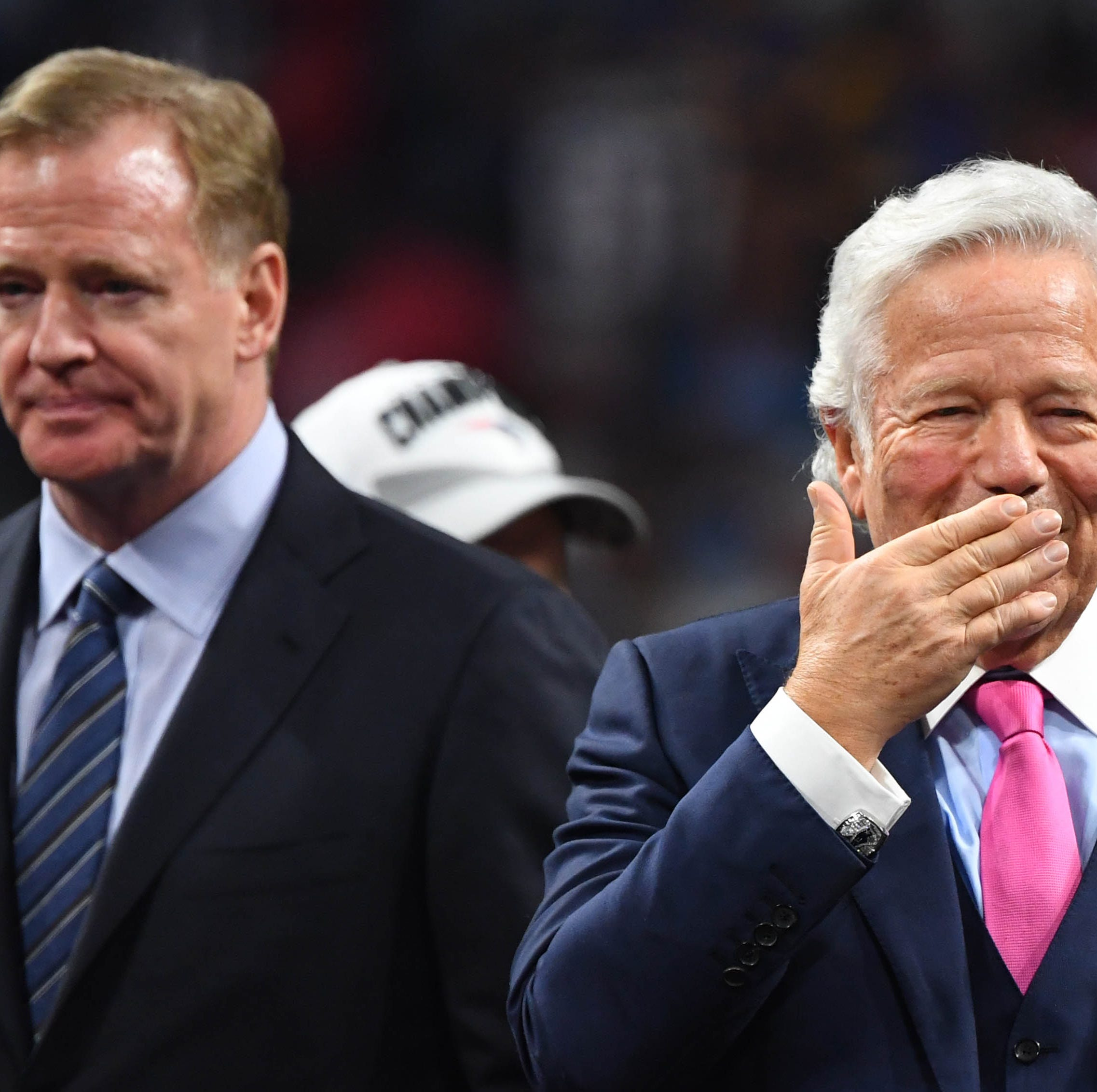 Robert Kraft gets busted and Buffalo Bills fans go crazy on Twitter