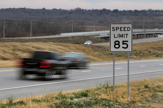 A section of Highway 130 in rural Texas is posted at 85 mph, one of the highest in the country.