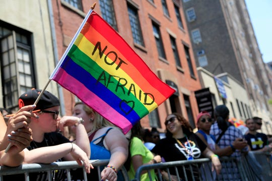 New York holds a Pride Parade on June 26, 2016.