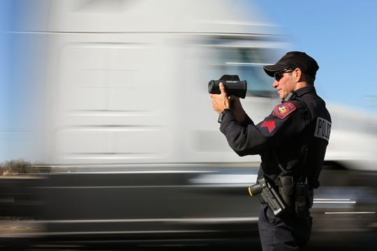 Even though part of Highway 130 in Texas is posted at 85 mph, police still keep a close eye on traffic.