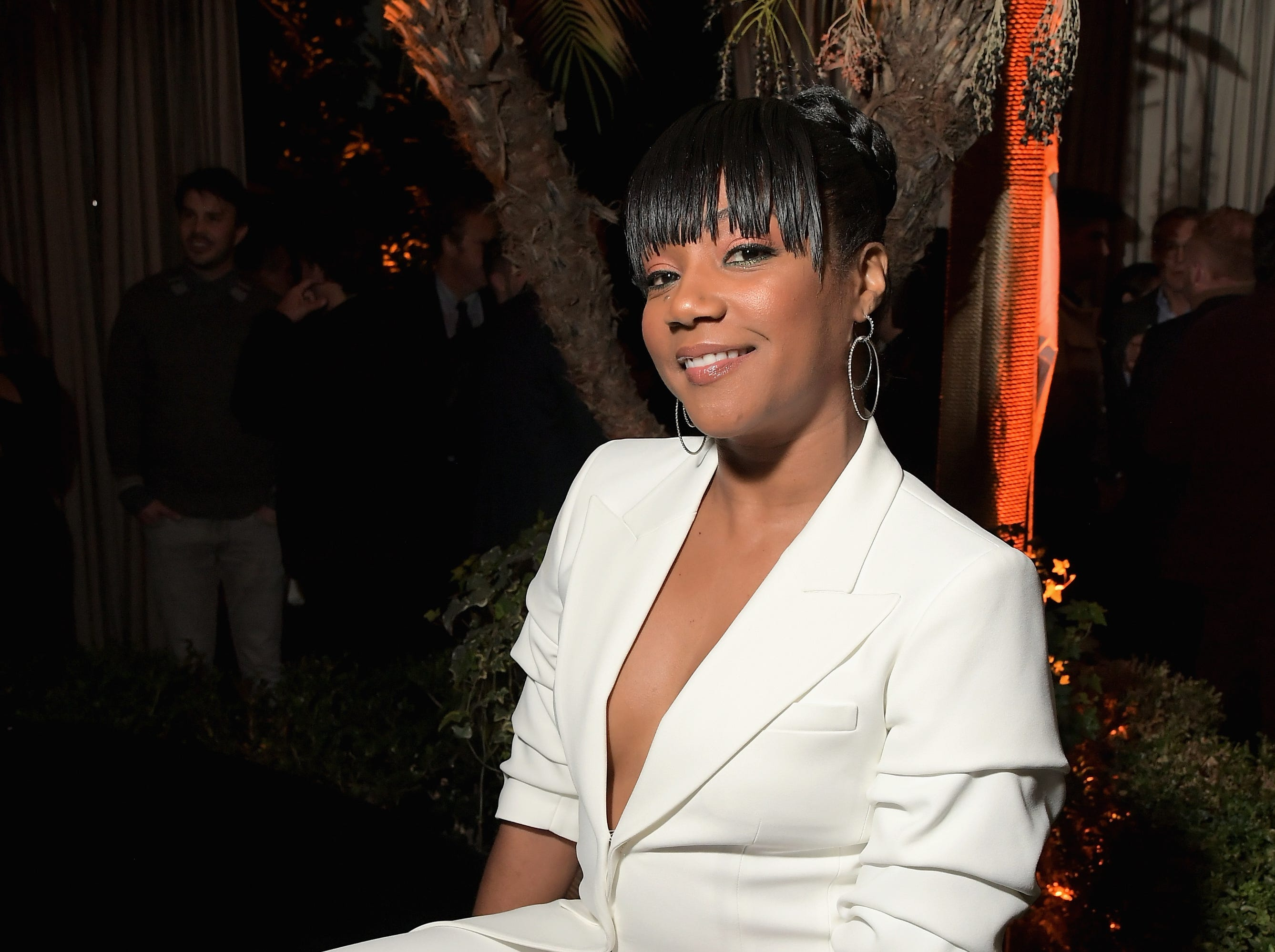 Hollywood is kicking off Oscars week early with celebrations. Tiffany Haddish attends the Cadillac Oscar Week Celebration at Chateau Marmont on Thursday.