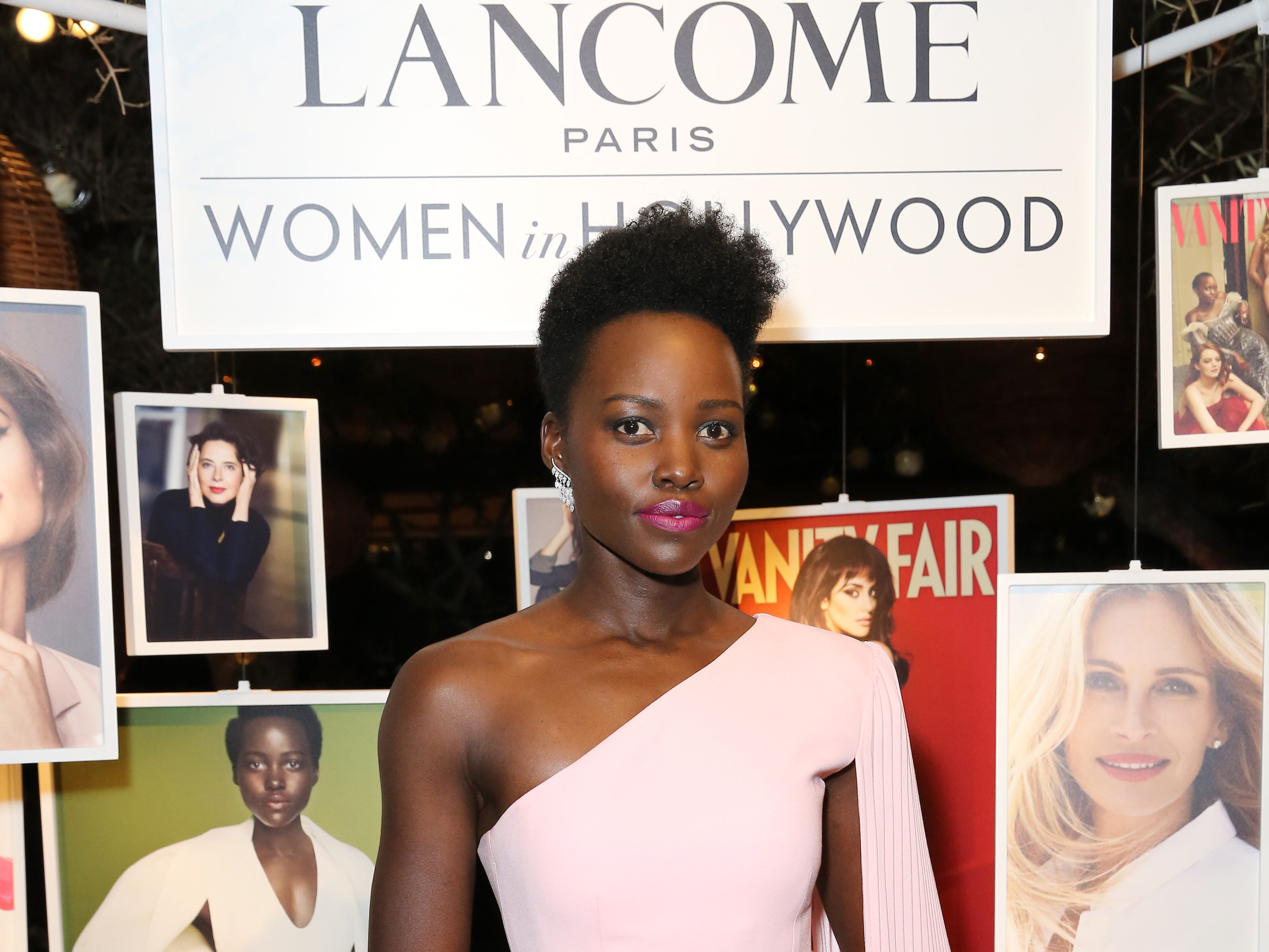 "Lupita Nyong'o looked stunning at the ""Women in Hollywood"" party."