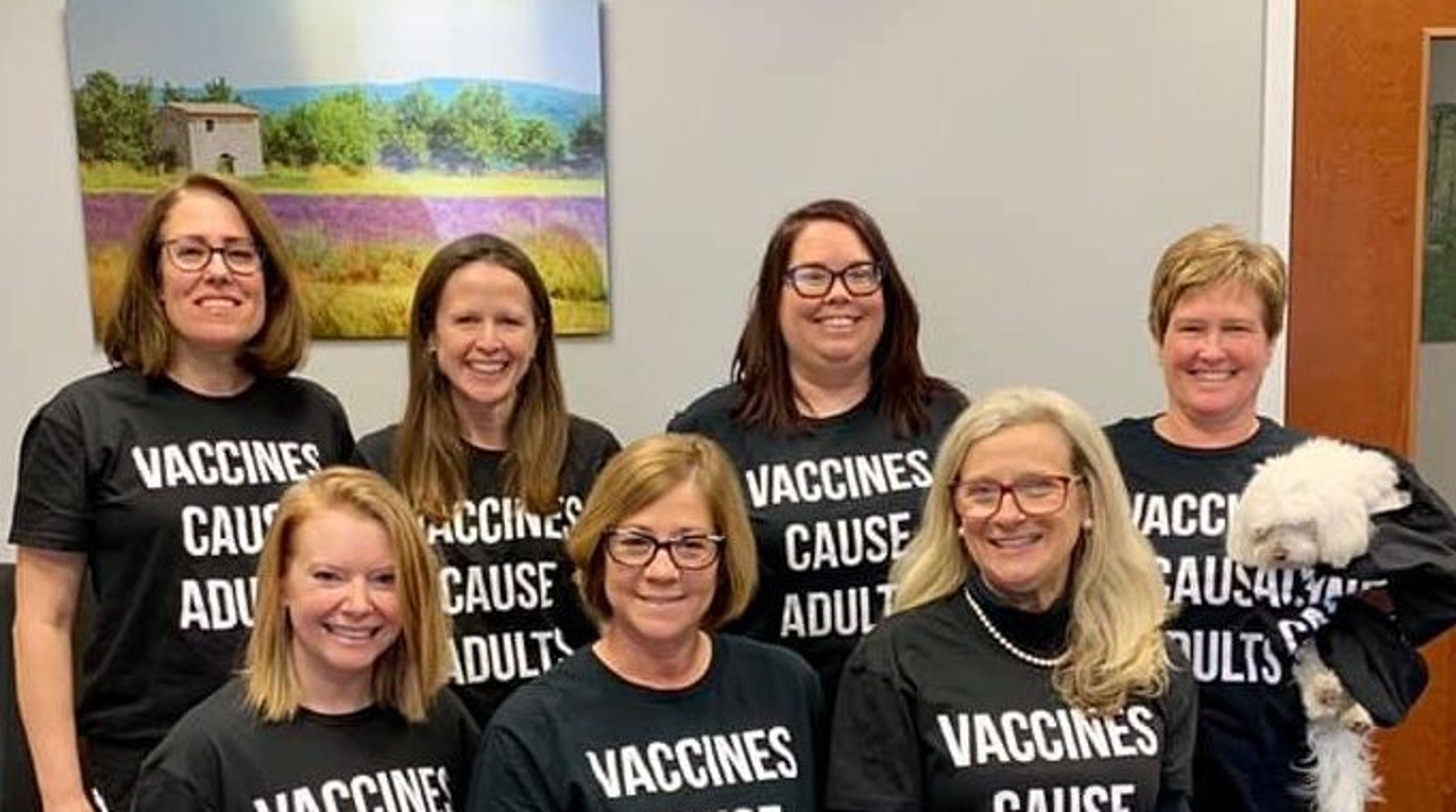 'Vaccines Cause Adults': Pediatric staff's response to anti-vaxxers after measles outbreak