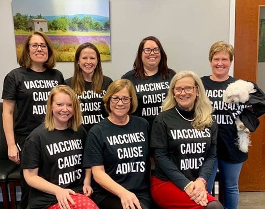 The staff of Legacy Pediatrics in Rochester, N.Y. wanted to stress the importance of vaccination after a measles outbreak in its county.