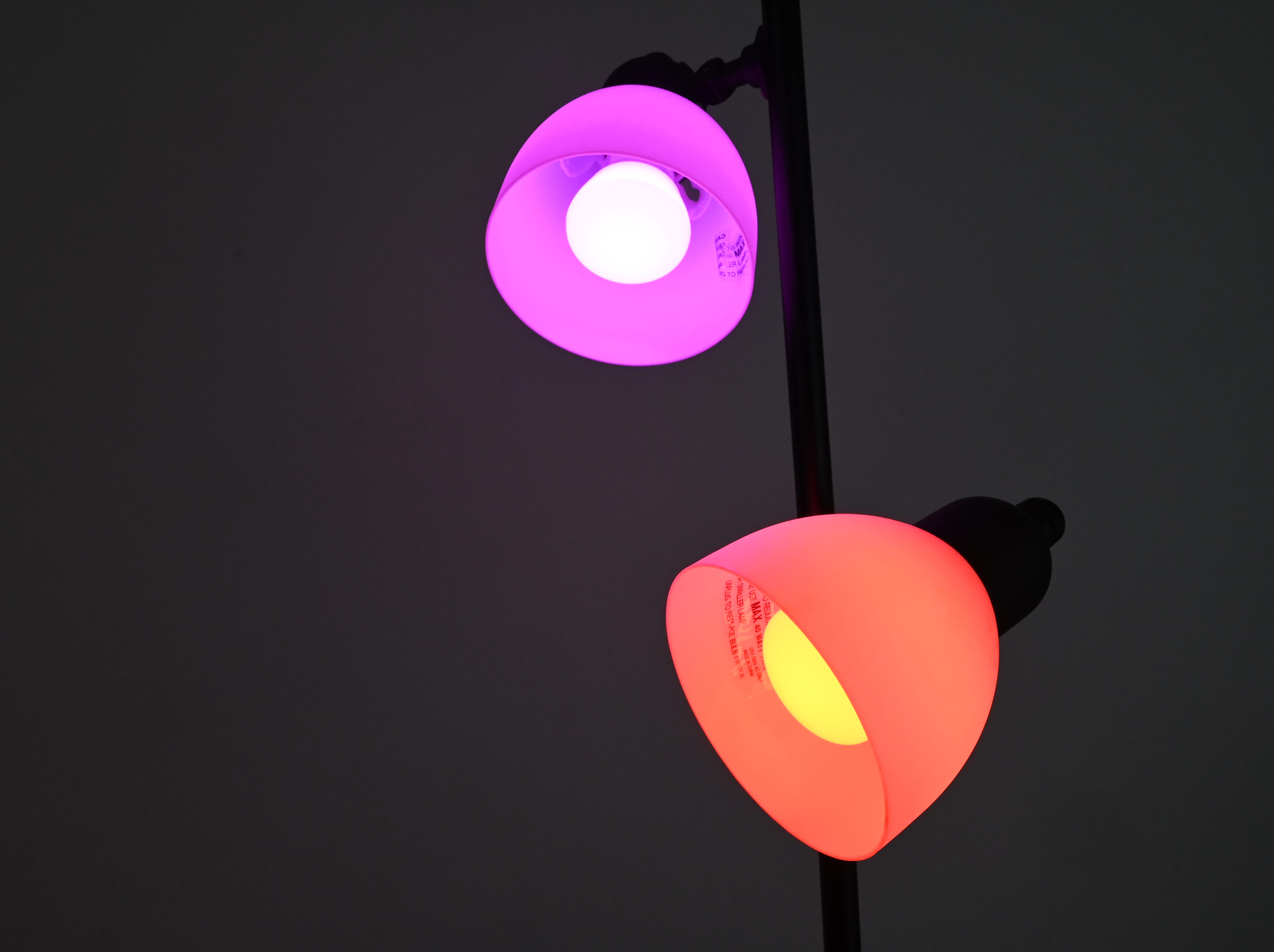 Philips Hue lights can change colors