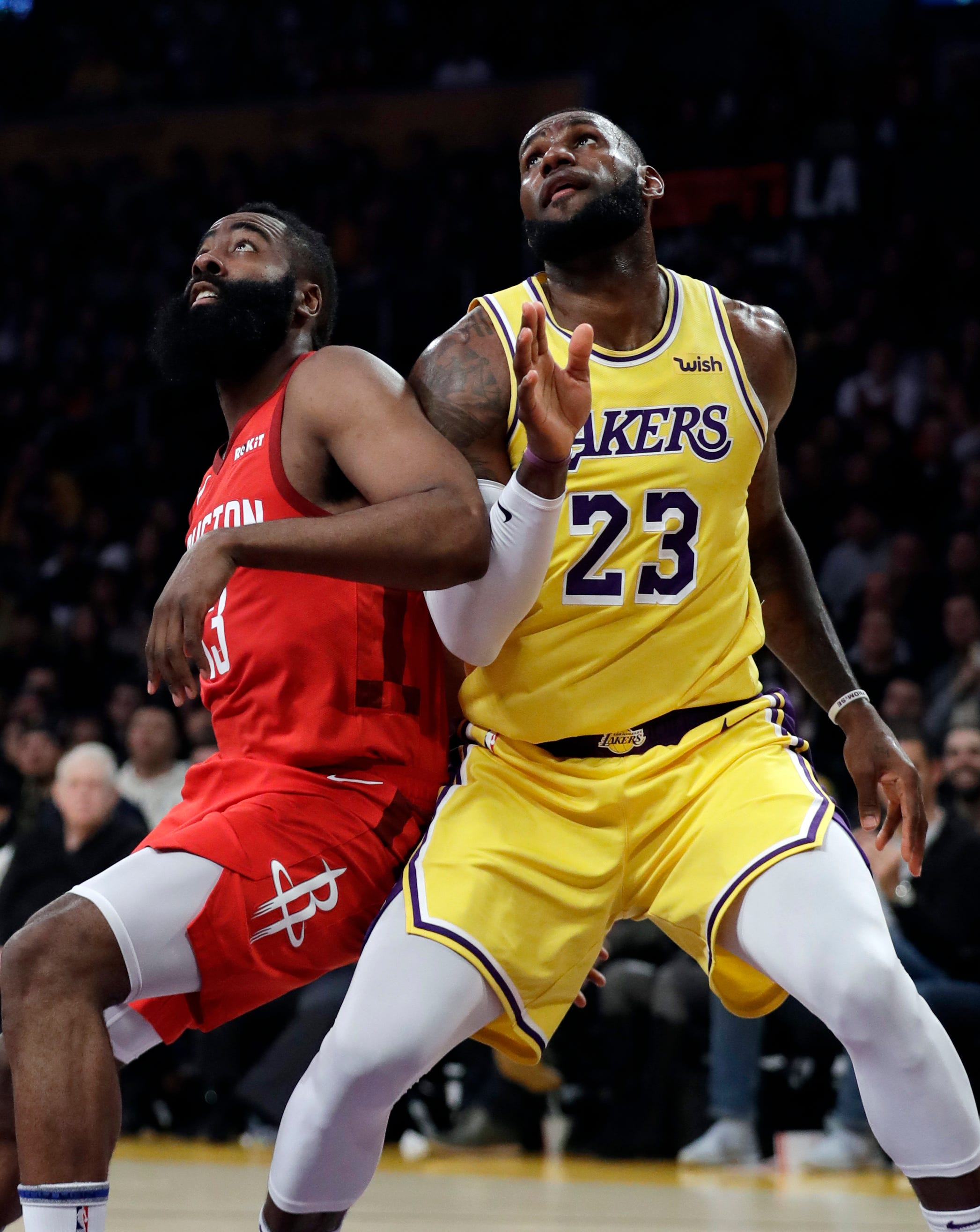 LeBron James, Lakers frustrate James Harden, Rockets in fourth-quarter rally