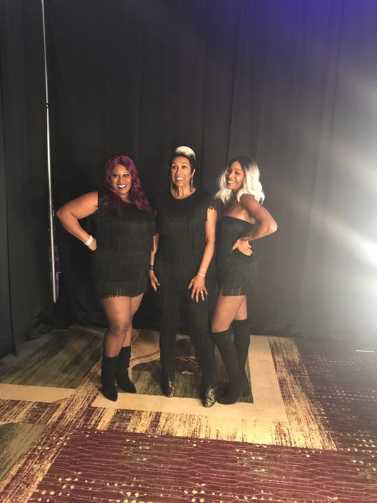 Ruth Pointer, center, is the last of the original members of the Pointer Sisters.