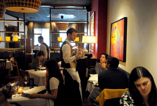 Prices at full-service restaurants are on the rise,according to the U.S. Department of Labor.