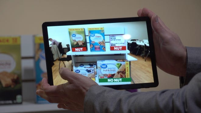 Using AR and Verizon 5G to identify food allergies.