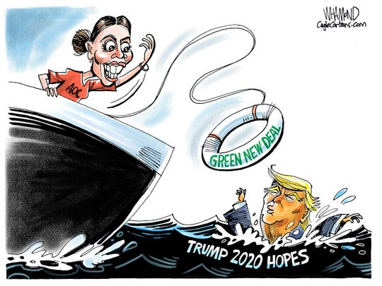 AOC throws Trump a lifeline
