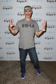 "Brody Stevens arrives at the ""Brody Stevens: Enjoy It!"" premiere in 2013."