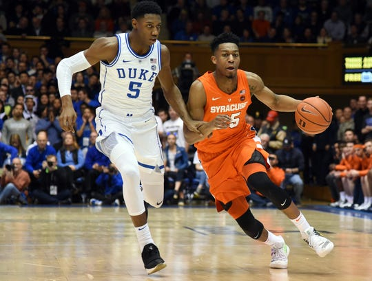 March Madness: Duke-Syracuse Top College Basketball Weekend