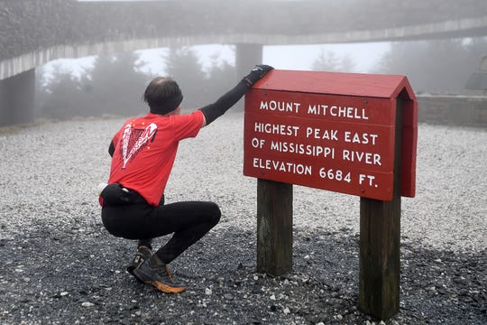 The Mount Mitchell Challenge and Black Mountain Marathon challenged runners on Feb. 23, 2019. The marathon runners ran from Black Mountain to the Blue Ridge Parkway. The 40-mile ultra marathon took runners to the highest point in the Eastern United States and back down.