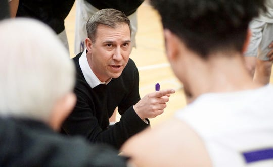 North Kitsap boys basketball coach Scott Orness and the Vikings open play in the Class 2A state tournament on Thursday in Yakima.