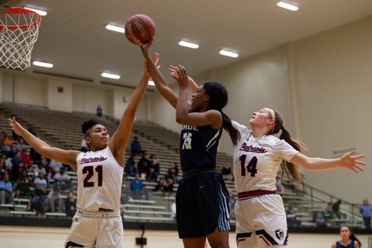Carroll falls to San Antonio Veterans Memorial 62-46 in the  Region IV-5A semifinal at Littleton Gym in San Antonio on Friday, Feb. 22, 2019.