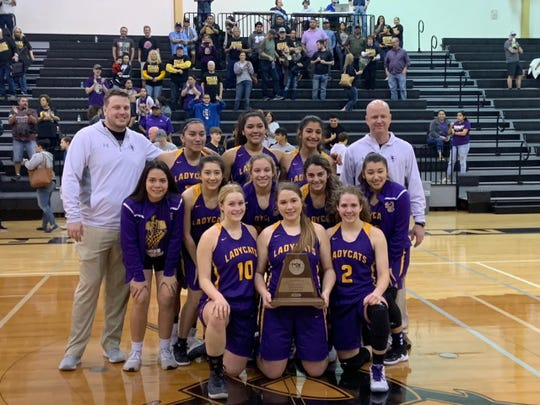 The Skidmore-Tynan girls basketball team finished as the Region IV-3A runner-up.
