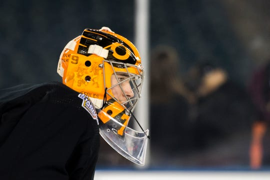 """Carter Hart will miss the next 10 days with a """"lower-body injury,"""" the Flyers announced Saturday morning."""