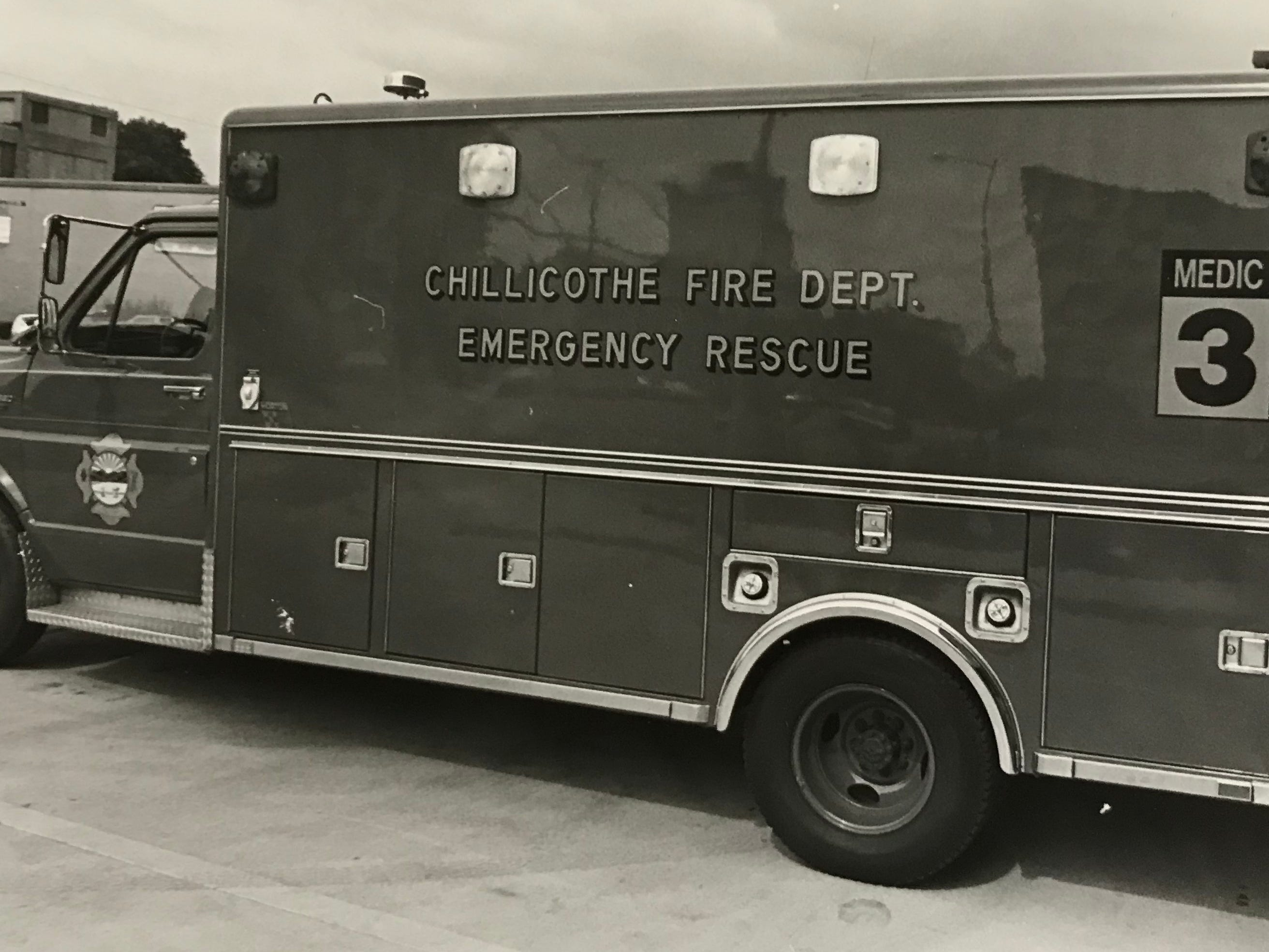 Chillicothe Fire Department ambulance from the 1980s.