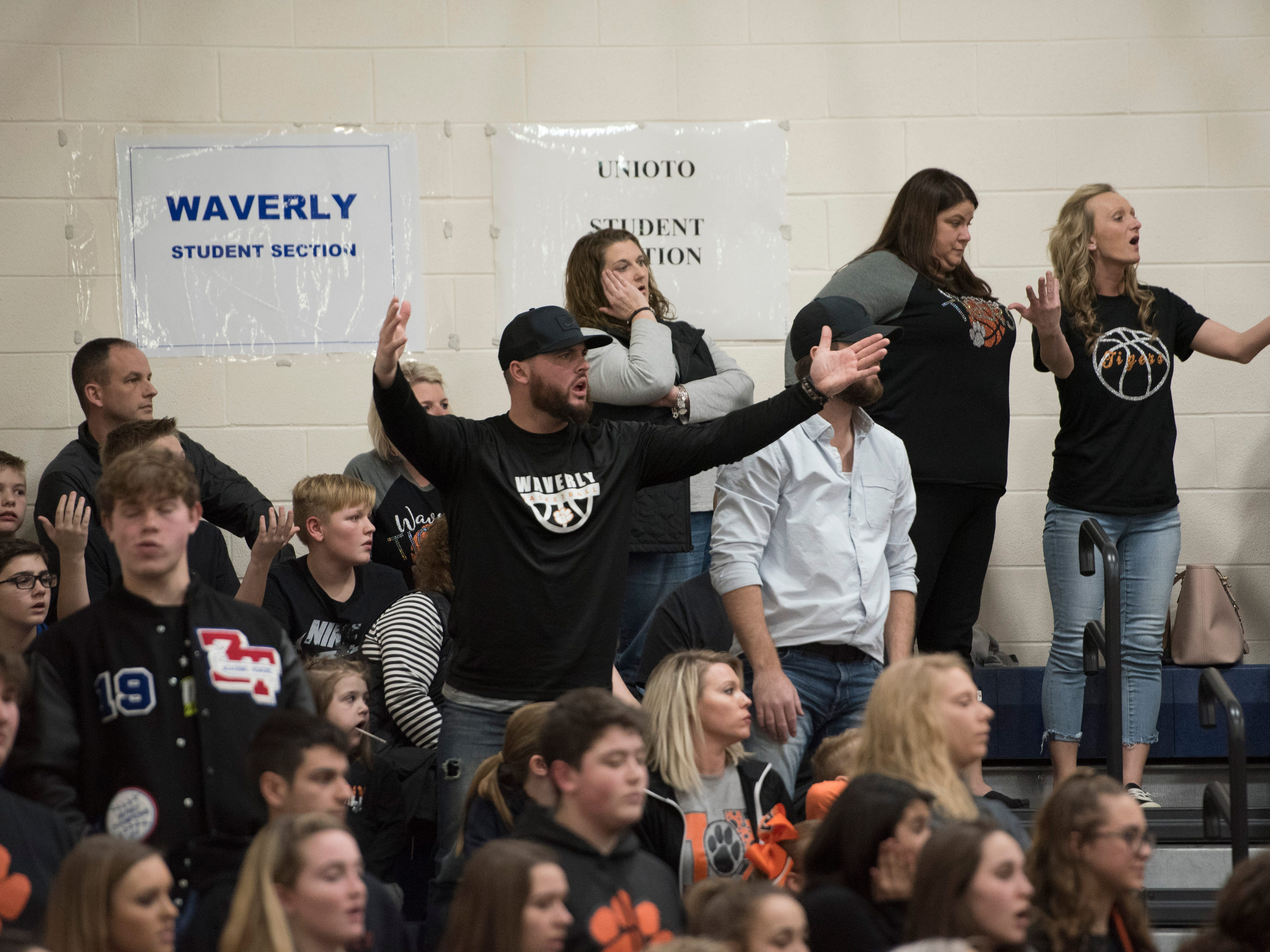 Waverly defeated McClain 67-66 in a Division II sectional final Friday night at Southeastern High School.