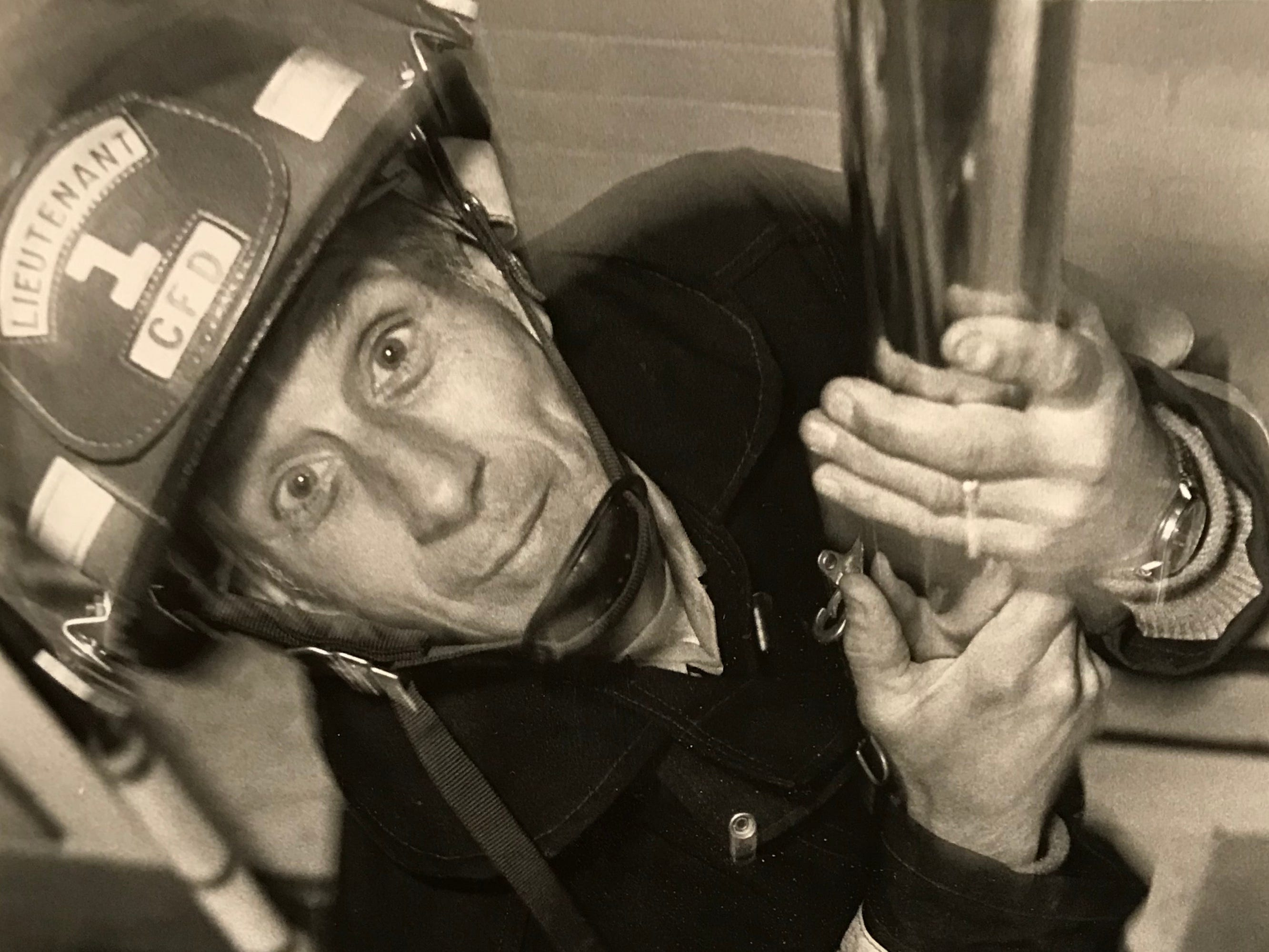 In June 1985, Richard Dearth, 53, was the oldest working firefighter at the Chillicothe Fire Department.