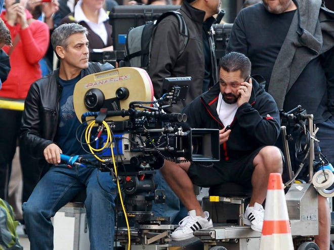 "Ohio's film tax credit is on the chopping block. George Clooney brought his movie ""Ides of March"" to Cincinnati in 2011 with the help of a film tax credit."