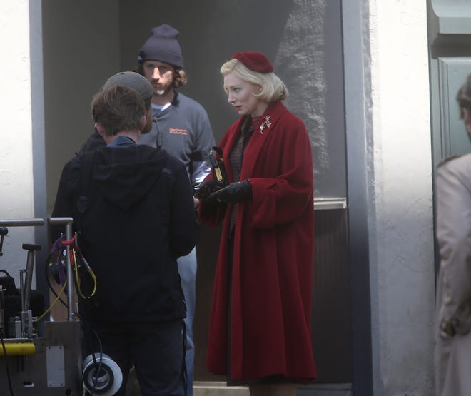 "Actress Cate Blanchett starred in the movie ""Carol,"" filmed in Cincinnati in 2014. The film was nominated for six Academy Awards, including Blanchett for lead actress."