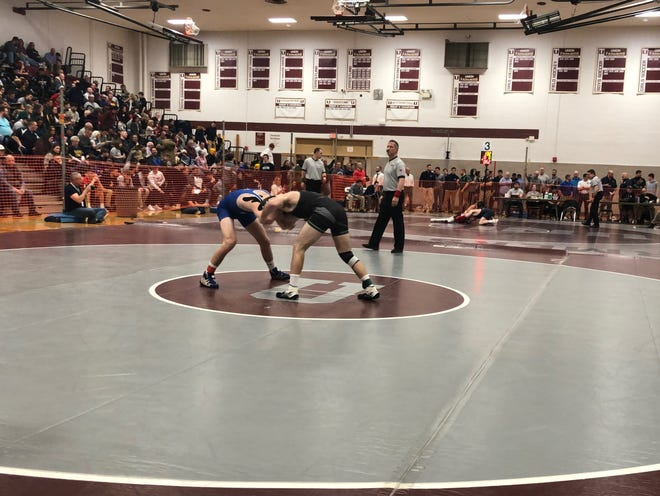 The Region IV wrestling quarterfinals were held Friday night at Union High School.