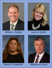 Gebhardt & Kiefer Law Offices has announced the promotion of four partners to Senior Partners: William J. Rudnik, Leslie A. Parikh, Diana N. Fredericks and Matthew P. Lyons.