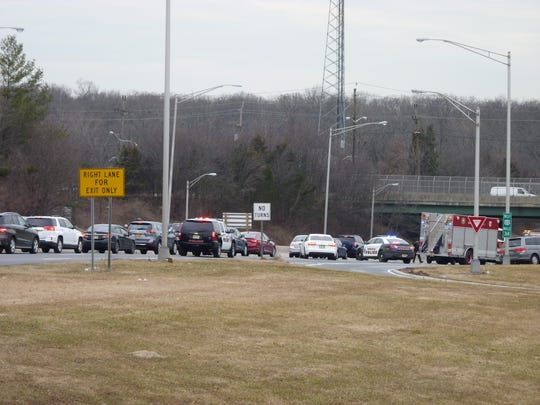 An accident on Route 22 westbound in Bridgewater is causing delays in the area.