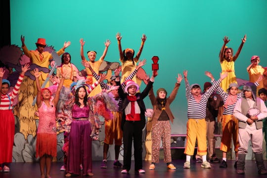 "Middle school students at The Wardlaw+Hartridge School in Edison performed ""Seussical Jr."" on Friday, Feb. 15."
