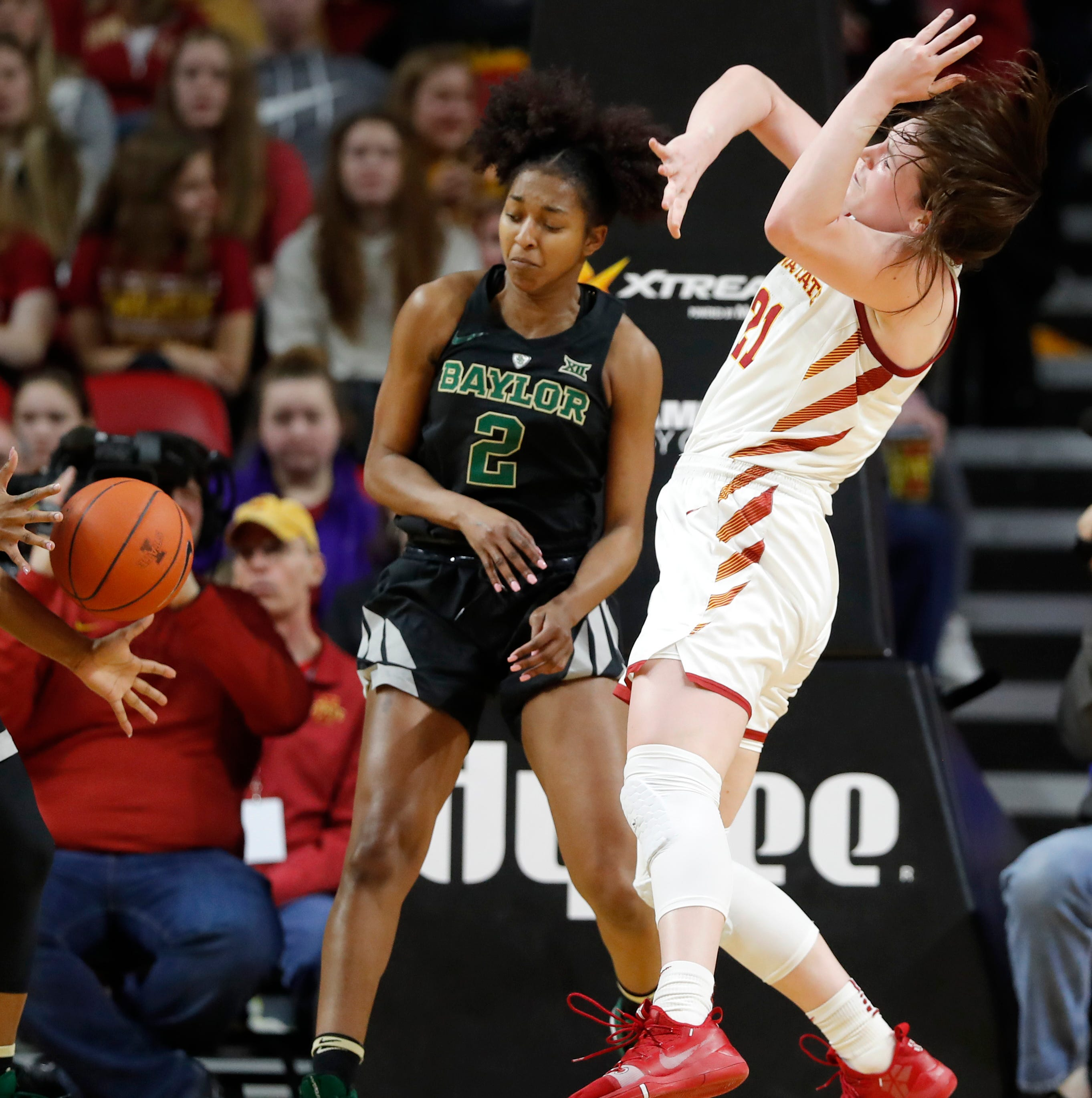 Iowa State women fall to No. 1 Baylor