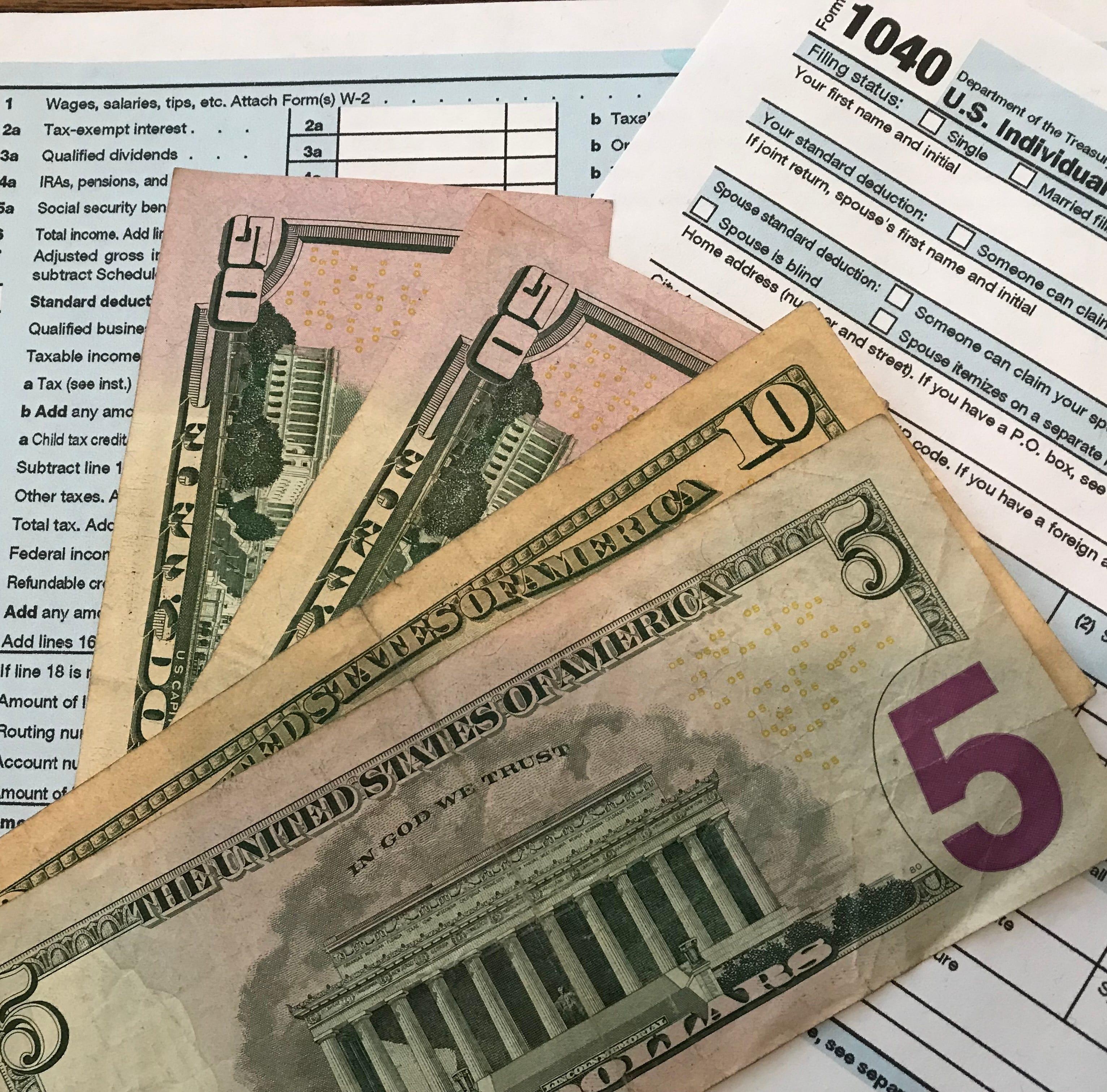 New IRS data: Average tax refunds down 16.7 percent