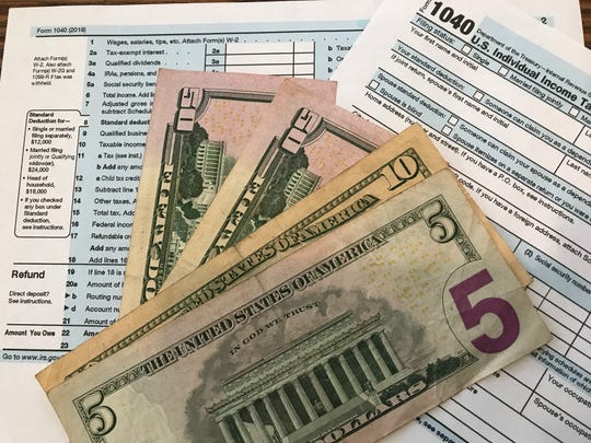 The average refund amount shown on tax returns processed so far was about 16.7 percent lower through Feb. 15 than it was for the same time in 2018.