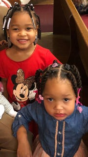 Kaiyesa and Kaiyanna were last on Feb. 22 in the 17000 block of Riopelle.