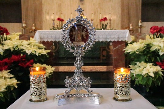 A relic of Blessed Solanus Casey, the first metacarpal of his right hand, has been hosted at parishes across Metro Detroit since 2017.