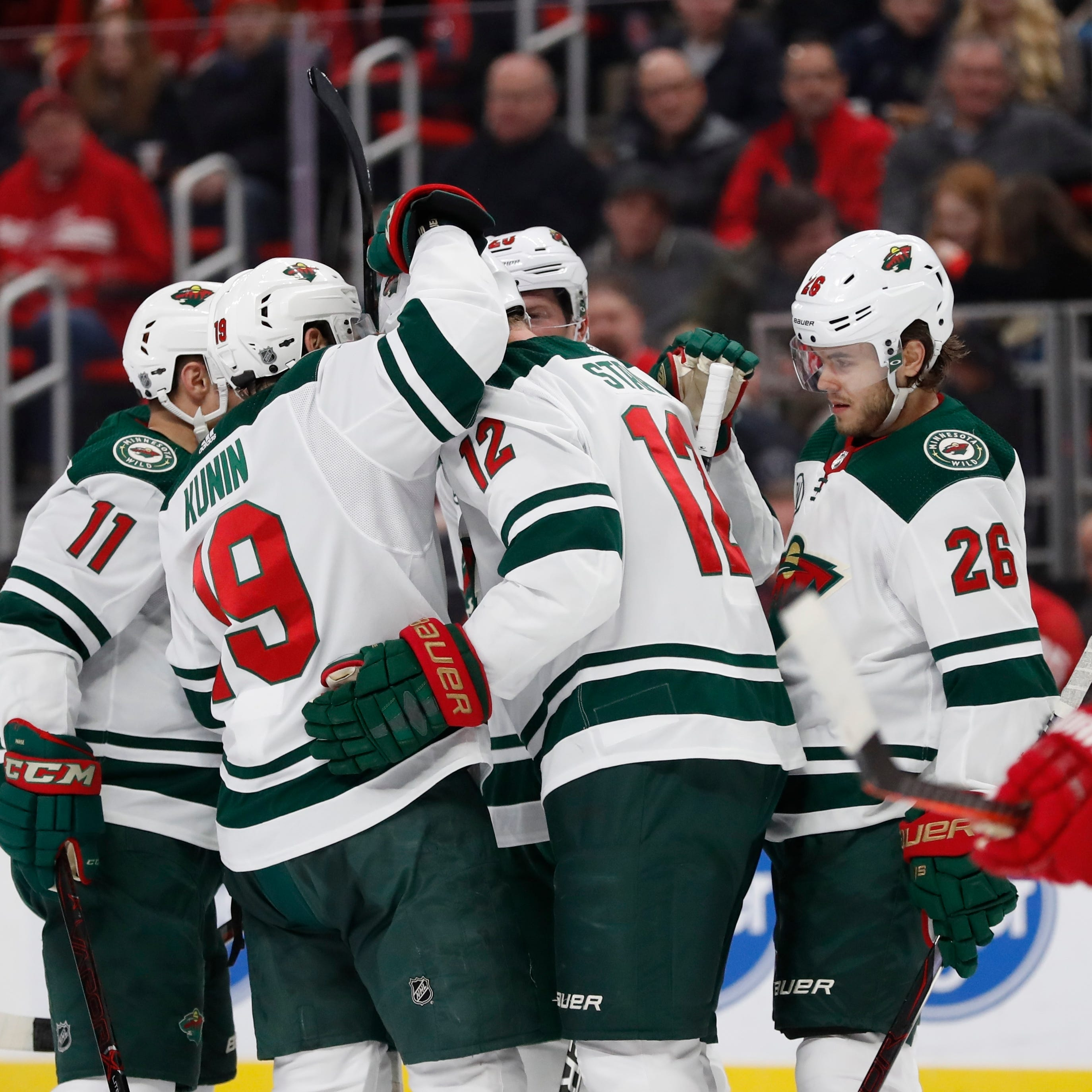 Wild make sure there is no Red Wings rally this time