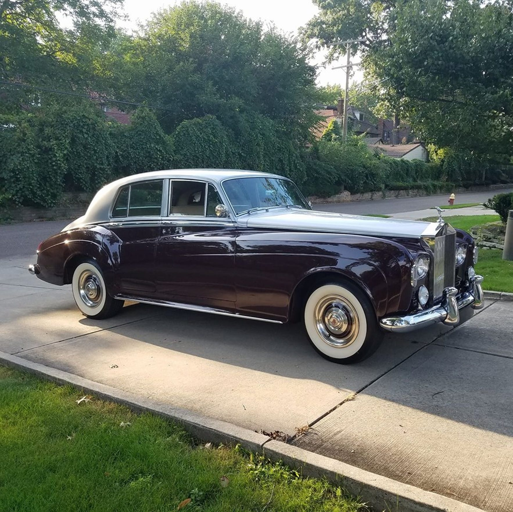 Dr. David Lewis' Facebook page features photos of his 1965 Rolls-Royce Silver Cloud.
