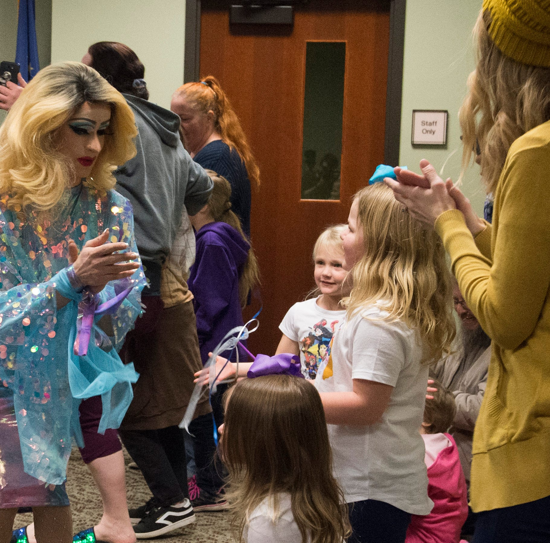 EVPL Drag Queen Story Hour is over. Here's what happened