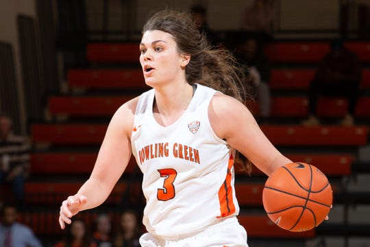 BGSU's Andrea Cecil was recognized MAC player of the week for the second time this season.