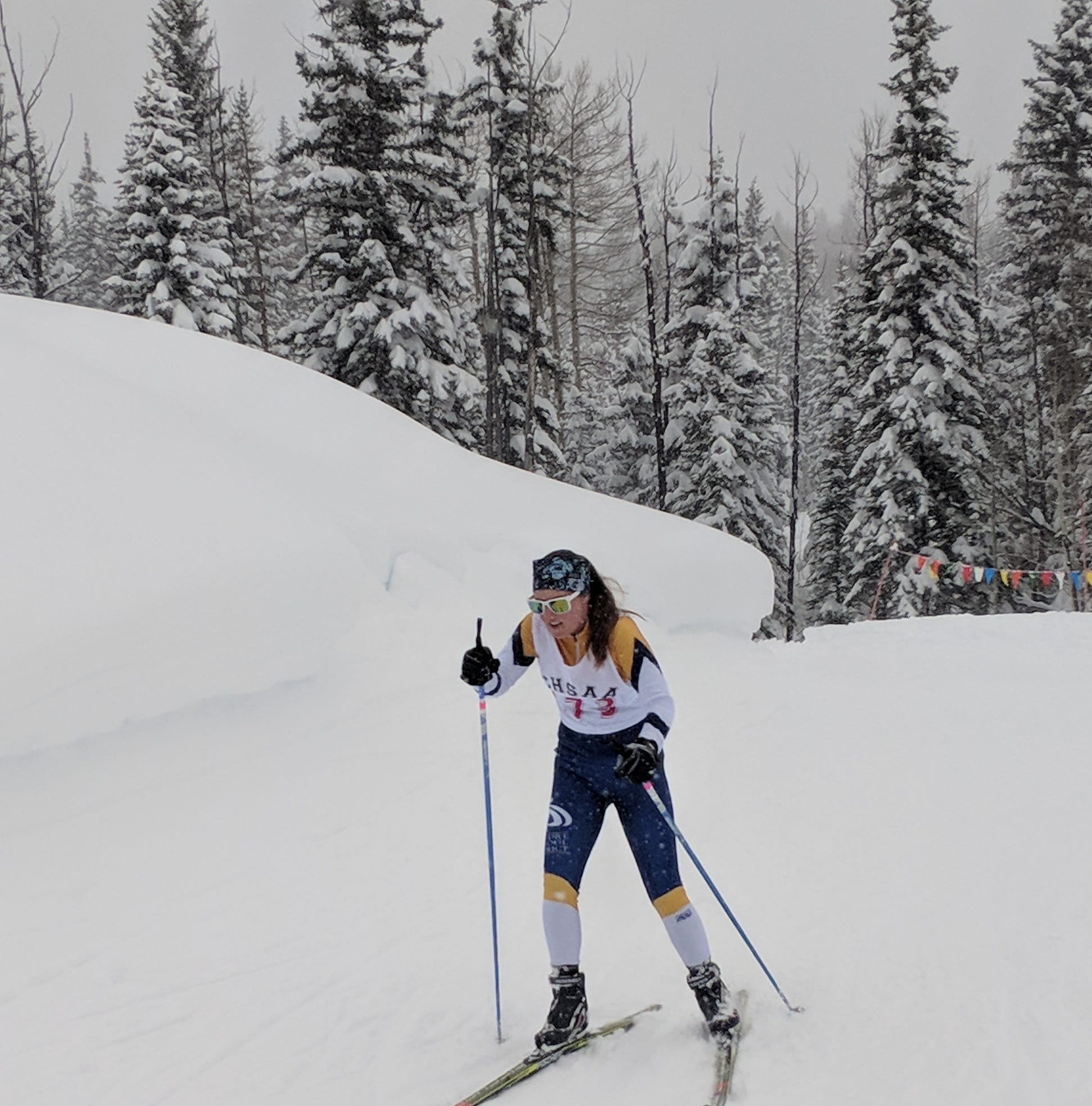 PSD's first-year ski teams finish 11th, 12th in final races at state championships