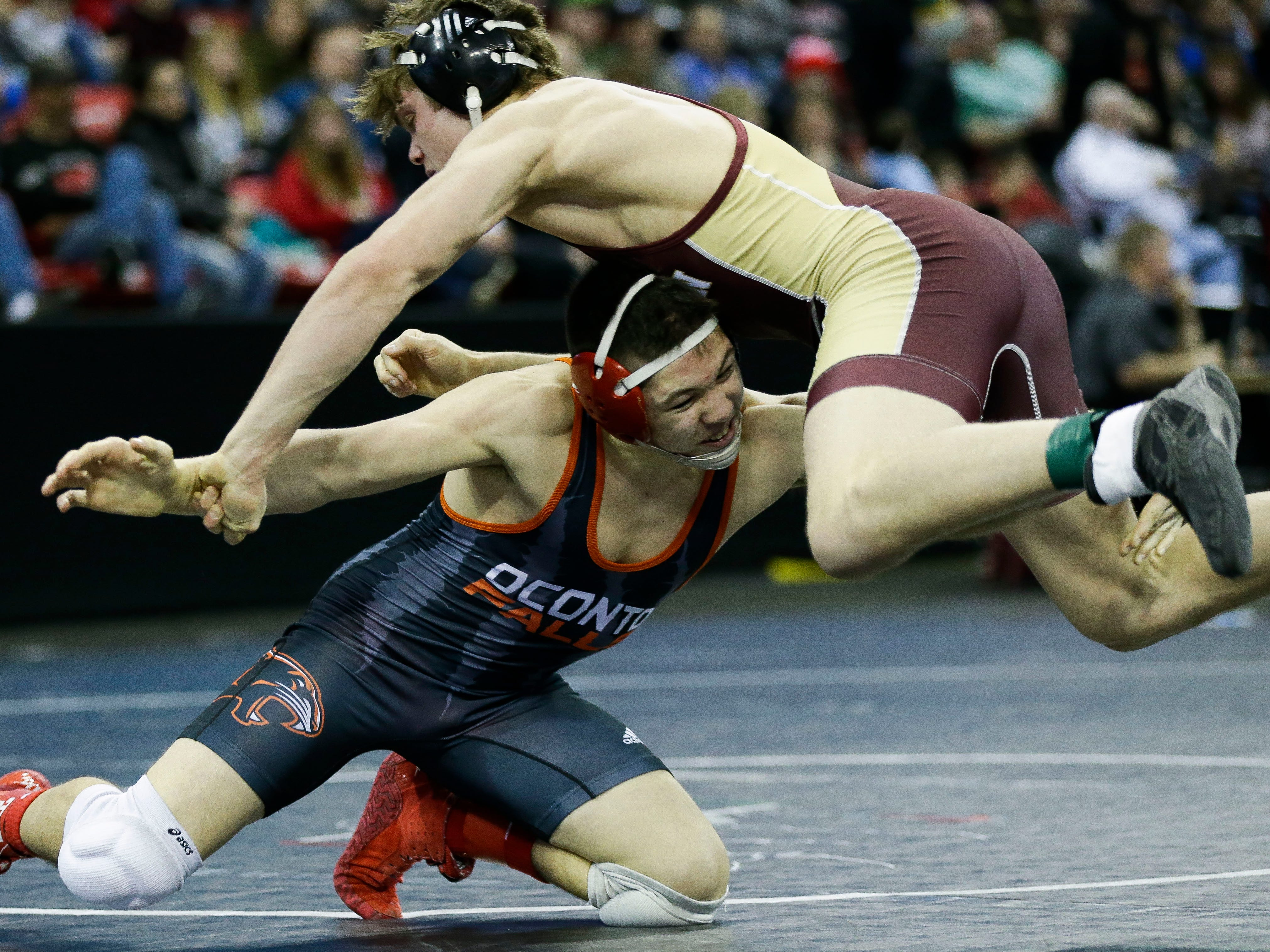 WIAA state wrestling: Day 3 results from Madison