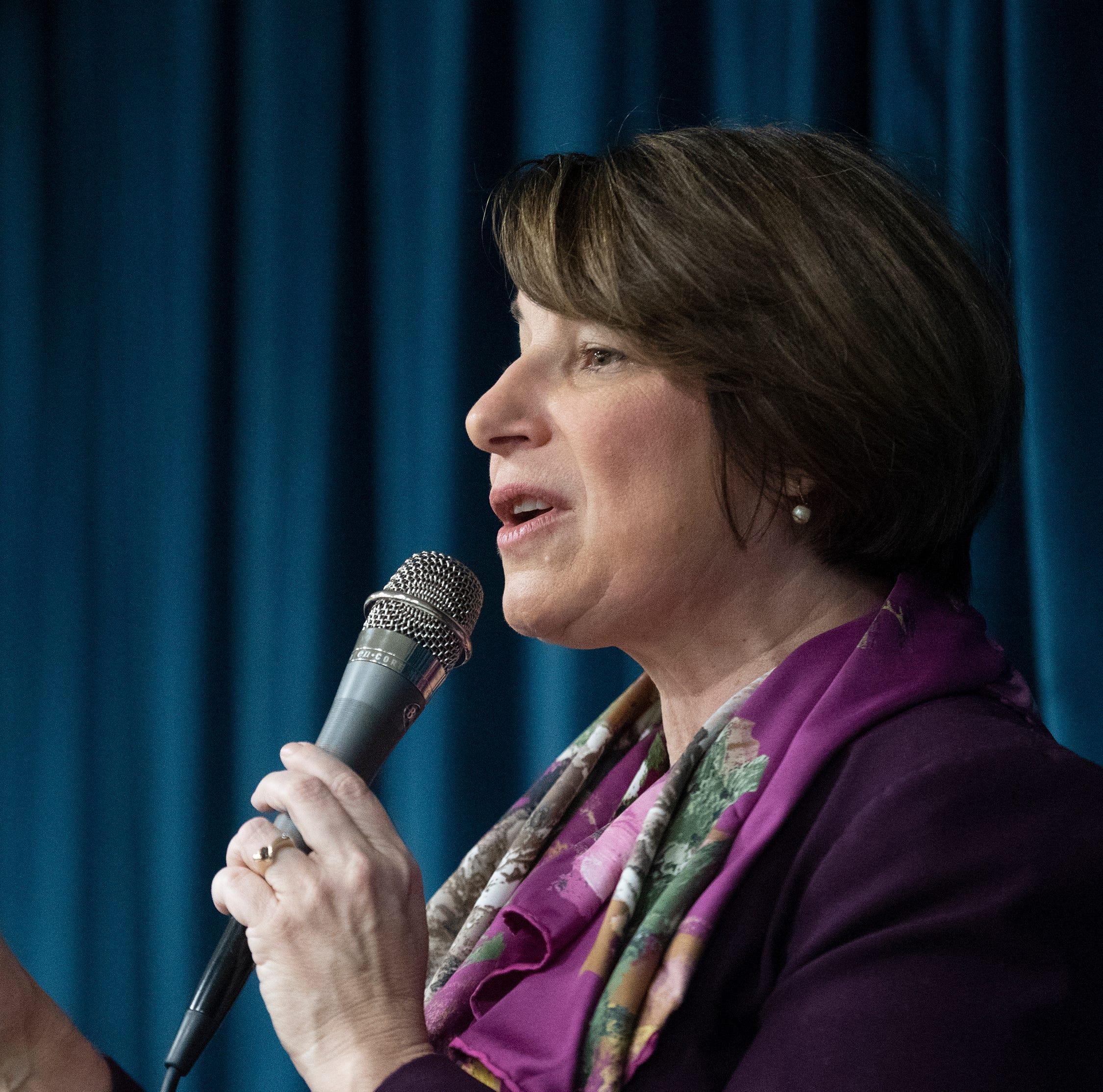 Key takeaways from Amy Klobuchar's campaign stop in Greenville