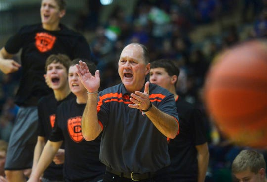 Head coach Mike Seymour and the Chinook Sugarbeeters won the Northern C boys' basketball championship Saturday night at Pacific Steel and Recycling Four Seasons Arena.