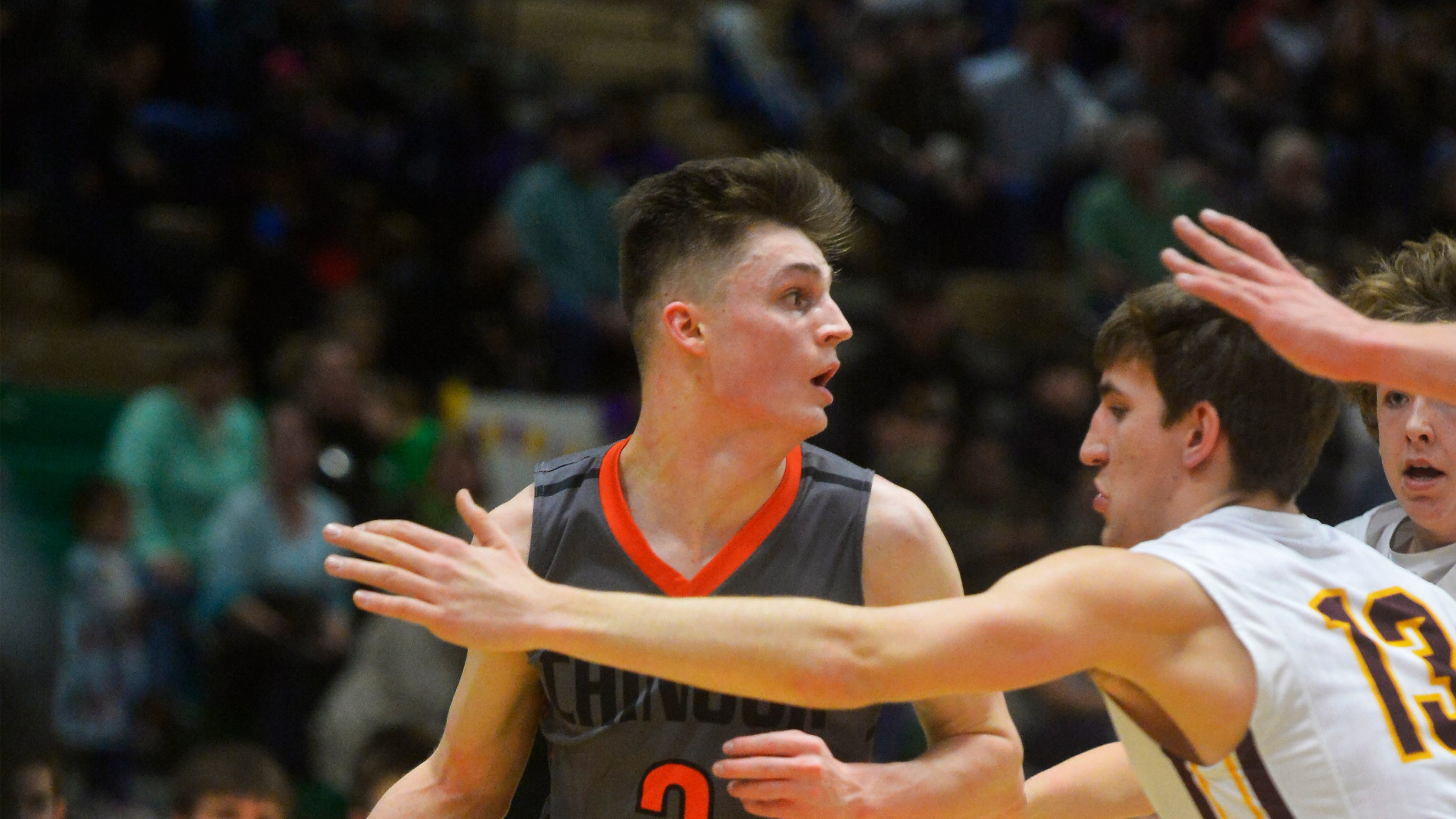 Chinook faced off with Arlee in the State C semifinals Friday in Billings.