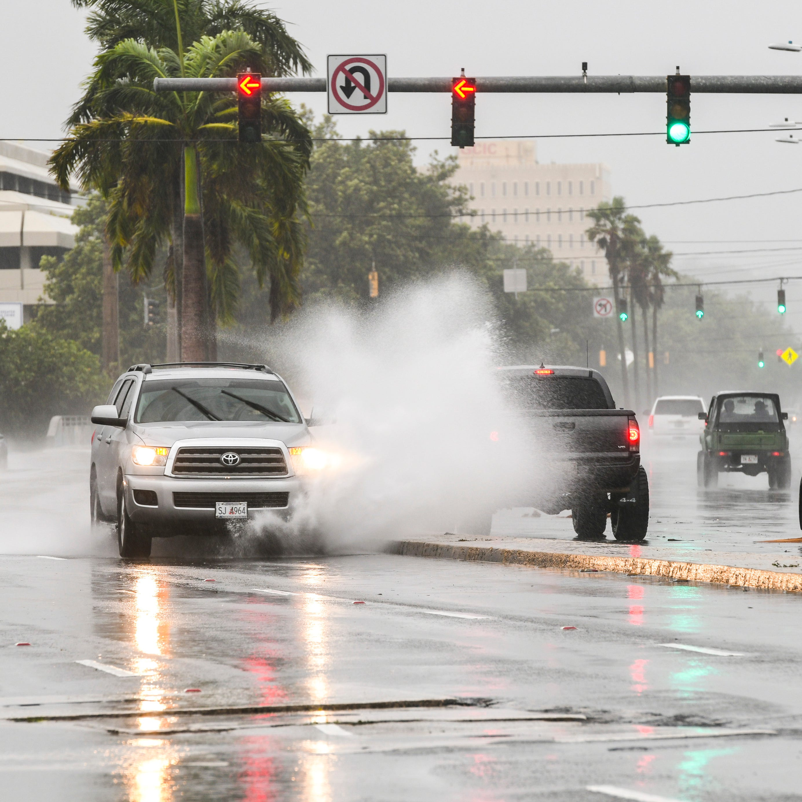 Expect thunderstorms, heavy rain through early evening, NWS Guam office says