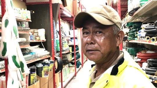 Frank Santos, park manager, Guam Memorial Park