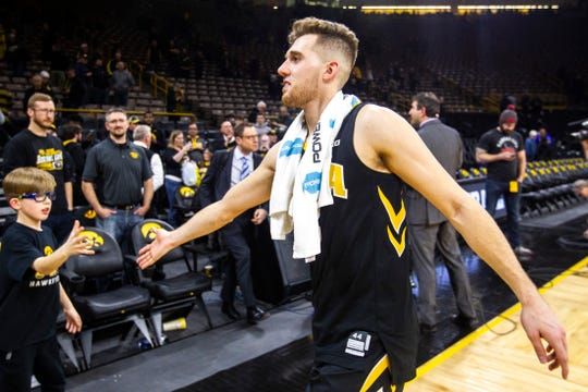 Iowa guard Jordan Bohannon would have an earning potential of about $25,000 off his name, image and likeness, sports economics experts projected.